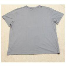 2XLT Dip Gray Short Sleeve Crew Neck Man's Cotton Tee T-Shirt Top XXL Tall I12