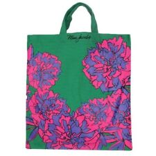NWT Marc by Marc Jacob Canvas Flower Print Shoulder Tote Pink Green
