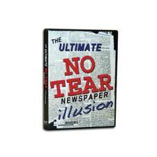 Ultimate No Tear Newspaper Illusion - Instructional DVD - Magic Tricks - New