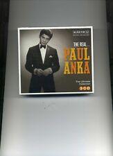 PAUL ANKA - THE REAL... PAUL ANKA - 3 CDS - NEW!!