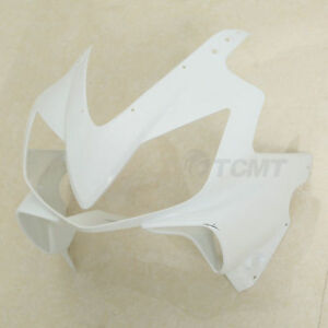 ABS Upper Front Cowl Fairing Nose Fit For Honda CBR600 F-4I F4I 2001-2008 02 03