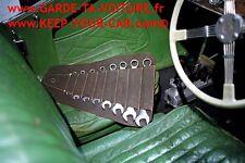 Gunson 77124 jeu de clés mixtes withworth 8 pièces avec poche en cuir