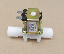 "1/2"" N/C AC220V Magnetic N/C Electric Solenoid Valve Water Air Inlet Flow Switch"