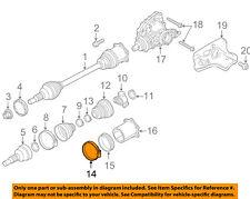 PORSCHE OEM 11-16 Panamera Carrier Front Axles-Inner Boot Clamp 97034926301