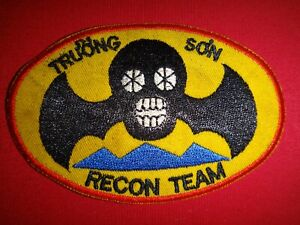 ARVN Special Forces TRUONG SON (Long Mountain) RECON TEAM Vietnam War Patch