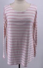 NWT Isabella Oliver Maternity Caia Stripe Tunic Long Sleeve sz 4 Pink White
