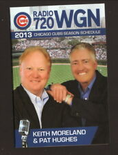 Chicago Cubs--2013 Pocket Schedule--WGN/Country Financial