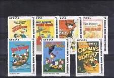 Serie Disney postfris MNH Guyana: Donald Movie Posters (dis144)
