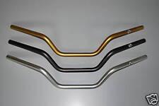 GOLD Renthal High Motorcycle Handlebars Ideal For Honda MSX125 Grom 756-01-GO