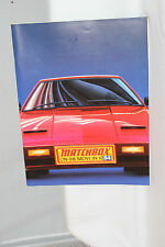 1984 MATCHBOX DEALER CATALOG, ORIGINAL
