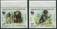 Cameroun # 843 - 846 Never Hinged Set - World Wildlife Fund Wwf Baboons - S5660
