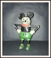 Disney Mickey Mouse French cast aluminium bank - 1930's - DISNEYANA.IT