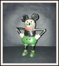 ⭐ Disney Mickey Mouse French cast aluminium bank - 1930's - DISNEYANA.IT ⭐