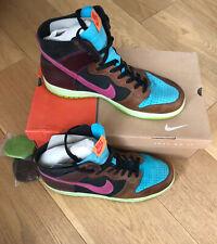 Nike Dunk Hi UK11.5 Blue Reef/Cotton Candy - Black