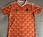 NETHERLANDS HOLLAND 1988 VAN BASTEN HOME SHIRT EURO 88 LARGE