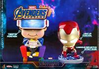 Hot Toys COSBABY COSB553 Movbi & Iron Man MK85 Avengers: Endgame Mini Figure Toy