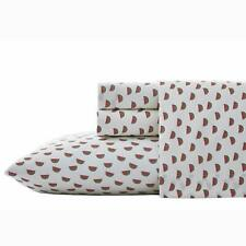 QUEEN Poppy & Fritz Watermelon Printed Designed Cotton Percale Sheet 4 Pcs Set