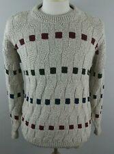 Penns Landing Mens Sweater Sz Medium USA Cotton Vintage Thick