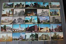 Church Postcard Lot over 50 per set. (set 3)