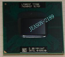5PCS Intel Core 2 Duo Mobile T7200 2.0GHz dual-core processor of SL9SF4M667MHz