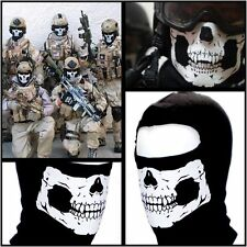 Skeleton Skull Face Mask Bandit dir/Motorbike/ATV/Chopper/Harley Riding Skiing T