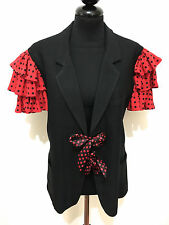 MOSCHINO CHEAP & CHIC Giacca Donna Viscosa Pois Woman Rayon Jacket Sz.L - 46