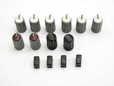 Behringer Eurodesk range & SL2442FX Pro effects knobs & buttons set