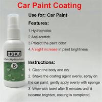 HGKJ1-11 Nano Hydrophobic Coating Refurbish Anti Fog 9H Car Pain Repair Cars Wax