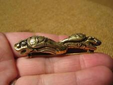 ███►alte ausgefallene Brosche/900er Silber - vergoldet um 1900