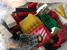 LEGO assortment of aeroplane, lorry, bus, and other vehicles. Approx 80 pieces.