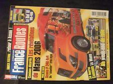 **f Revue France Routes n°297 Poster Peterbilt 379 / 24h du Mans camions 2006