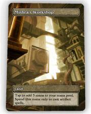 === 4X Mishra's Workshop X4 == Full Art Borderless ==