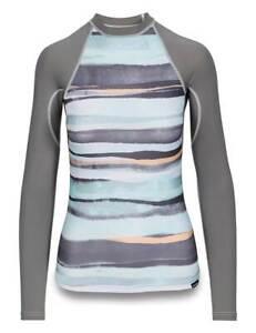 Dakine Womens Flow Print Snug Fit L/S Surf Shirt