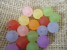 Acrylic Multi 12 - 12.9 mm Size Jewellery Making Craft Beads