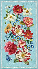 Rainbow Garden Quilt Panel by Wilmington fabric - Quilt Kit 100% Cotton