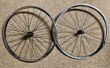 Bontrager Race Lite Wheelset alum. clincher front rear wheel road bike wheels