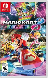 Mario Kart 8 Deluxe - Nintendo Switch Brand New Factory Sealed - FREE SHIPPING