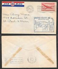 1947 First Flight Air Mail Cover - San Francisco, California