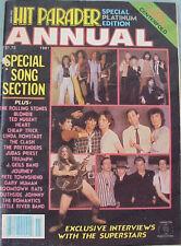 HIT PARADER magazine - ANNUAL 1981 Special Platinum Edition Blondie, Townshend