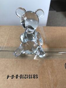 Bear Paper Weight Glass