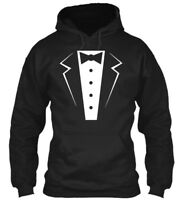 Tuxedo Bowtie Formal For Wedding Gildan Hoodie Sweatshirt