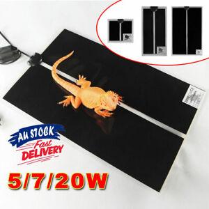 Reptile Pet Electric Heating Pad Bed Cat Dog Heat Mat Heated Warmer Heater Bunny