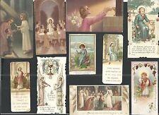 10 holy card antiques de religiosas santino image pieuse estampa