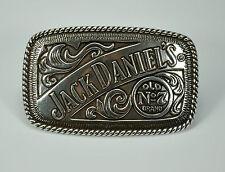 Jack Daniel`s  Whiskey Lizenz Belt Buckle Merchandise Gürtelschnalle *366 si