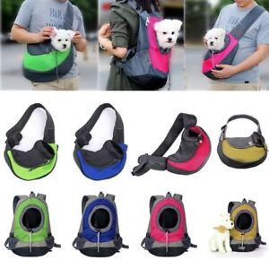 Pet Cat Dog Puppy Carrier Mesh Comfort Travel Tote Sling Backpack Shoulder Bag