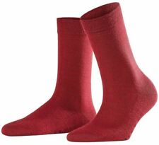Falke Womens Softmerino Socks - Wine Red