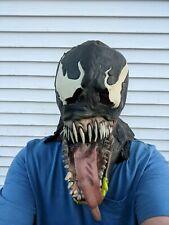 Vintage Marvel Venom Halloween Latex Rubber Party Adult Mask Free S&H