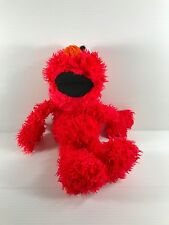 Elmo plush toy, Sesame Place Elmo, stuffed Elmo, large Elmo, fuzzy Elmo, EUC