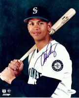 Alex Rodriguez Signed Autographed 8X10 Photo Mariners Vintage Pose JSA