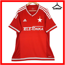 More details for wisla krakow football shirt xl home soccer jersey biała gwiazda poland 2015 2016